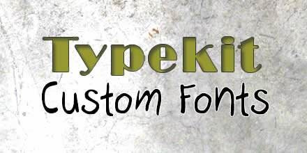 Typekit Font Foundry tutorial